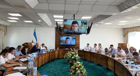 Организован международный тренинг для судей на тему «Признание вины в уголовных судах Узбекистана».