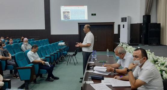 В соответствии с поручением Президента Республики Узбекистан Высшая школа судей курирует Исполнительные Бектемирский и Яккасарайский районы.