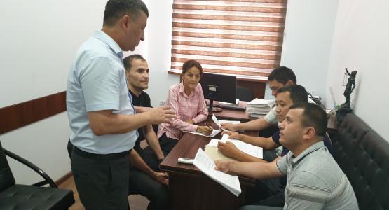 Процесс стажировки студентов кафедры административного права